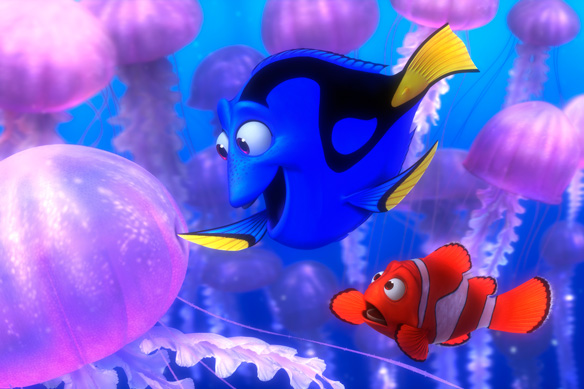 What Penny Did Next Pennys Glowing Dory Finding nemo